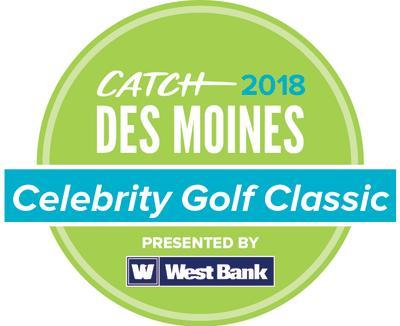 2018 Catch Des Moines Celebrity Golf Classic Logo