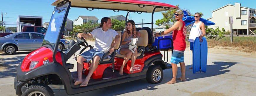 Ocean Atlantic Rentals LSV Golf Cart Rental