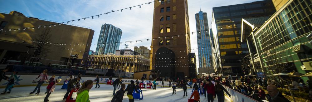 Downtown Denver Rink at Skyline Park