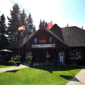 The Park Theatre in Riding Mountain National Park