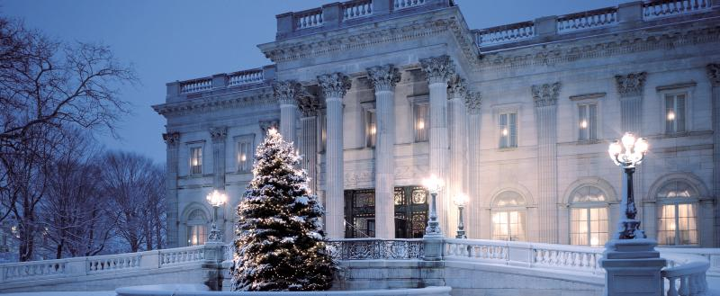 Marble House Winter Christmas Tree