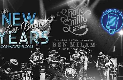 New Years Eve Bash with Shane Smith and The Saints