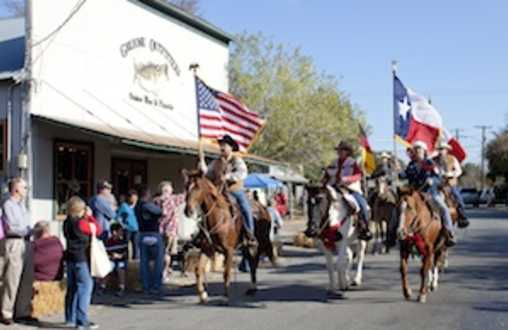 17th ANNUAL  GRUENE PONY EXPRESS RIDE