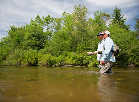 Fly Fishing on the Boardman