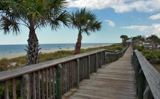 Beach Croft Motel Boardwalk