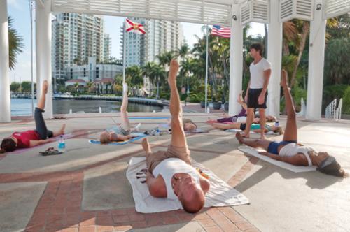 riverwalk yoga