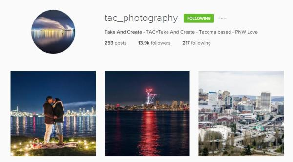Talk and Create Instagram account