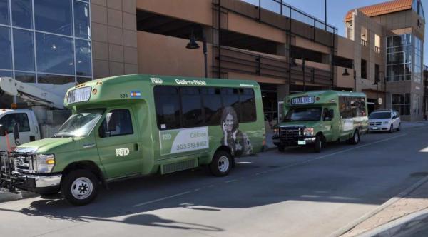 Call-n-ride bus