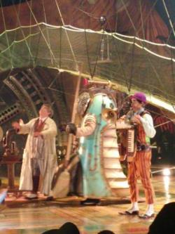 Kurios Cirque du Soleil in Seattle Clown performers