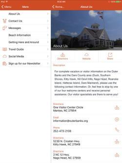 ipad-OBX Travel App