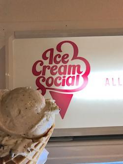 Ice Cream Social cookies + cream