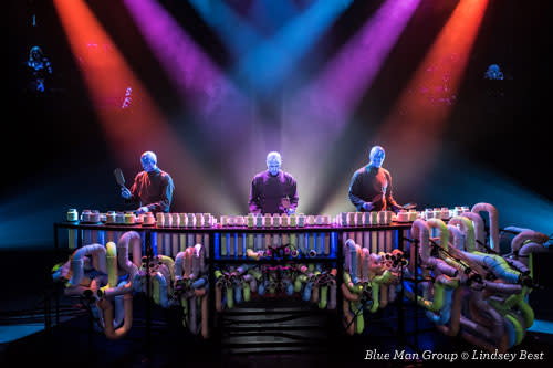 Blue Man Group in Chicago