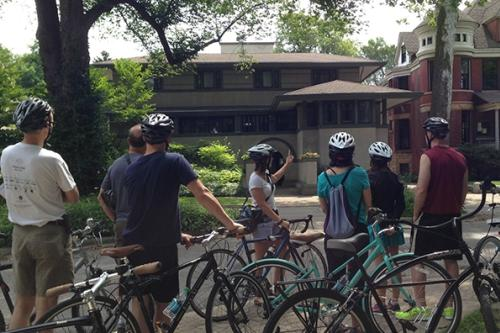 Frank Lloyd Wright tour: Pedal Oak Park
