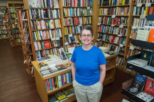 Lynn Mooney of Women and Children First Bookstore in Chicago