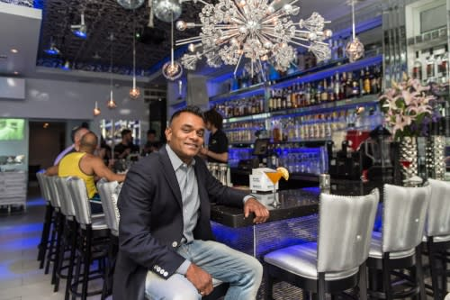 Ramesh Ariyanayakam of the Kit Kat Lounge & Supperclub in Chicago