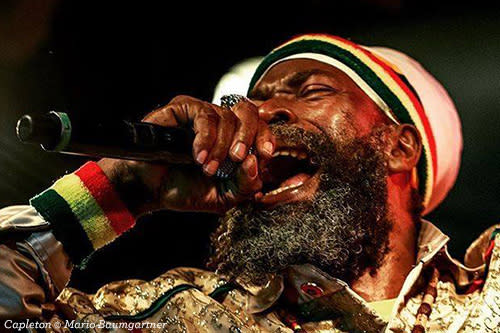 Capleton in action