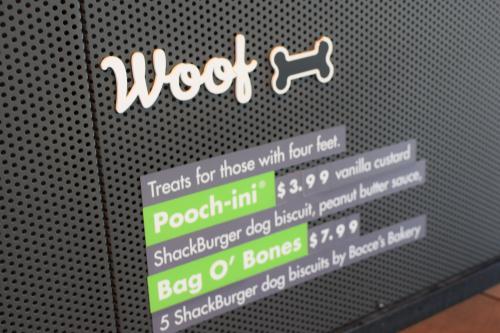 Dog Menu Items at Shake Shack