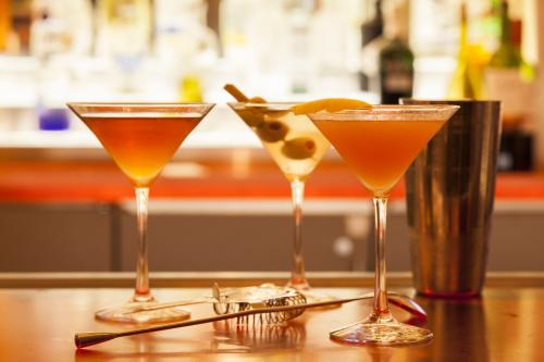 Red Bar & Lounge assorted martinis