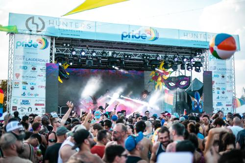 June is Pride Month in Fort Lauderdale's Wilton Manors community. Come join the LGBT+ community in strutting down Wilton Drive.