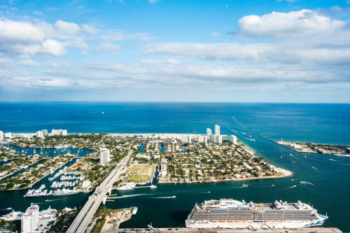 Port Everglades is one of the world's top three ports for cruising with excursions operated by 10 cruise lines and over 40 ships.
