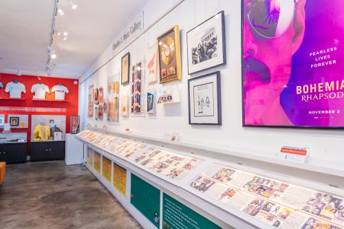Stonewall Museum, the nation's largest LGBT+ museum, is located in Wilton Manors, Greater Fort Lauderdale.