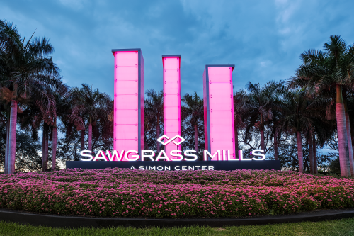 Sawgrass Mills Light Columns