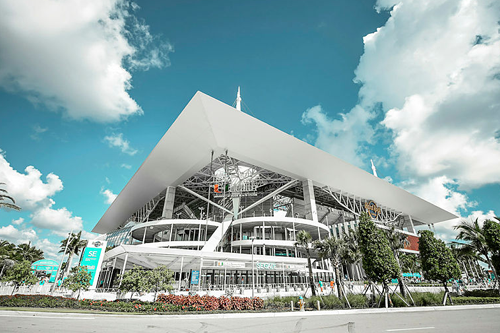 Visit Hard Rock Stadium for an NFL game, only minutes from Greater Fort Lauderdale.
