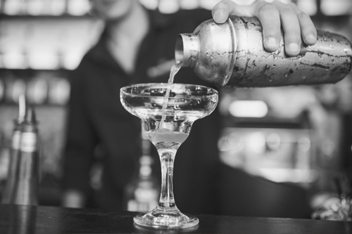 The Hideaway is a downtown Fort Lauderdale speakeasy bar located in the classic Bryan building, which is listed in the National Historic Registry.