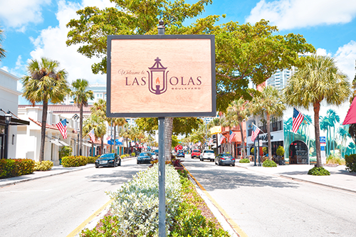 Stroll along Las Olas Boulevard to sightsee and find popular souvenirs, an array of galleries, restaurants, and plenty of boutique shopping along this tree-lined thoroughfare near the New River, including local and well-known brands.