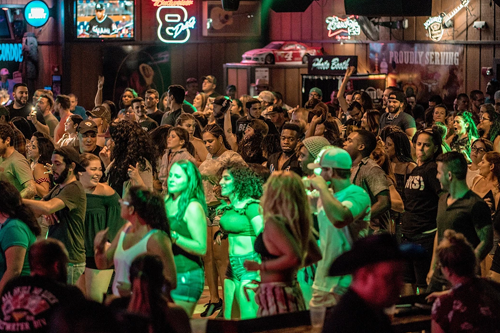 Round Up Country Western Bar brings cowboy culture to South Florida. Flex your square dancing muscles while the staff at Roundup teach you the moves.
