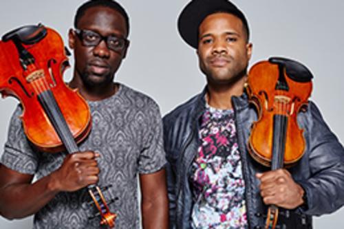 Image result for black violin hult center