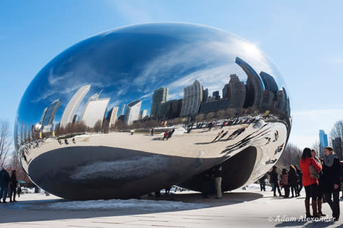 Cloud Gate AKA the Bean - Chicago Public Art