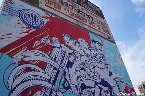 Mural in Chicago Created by ASVP