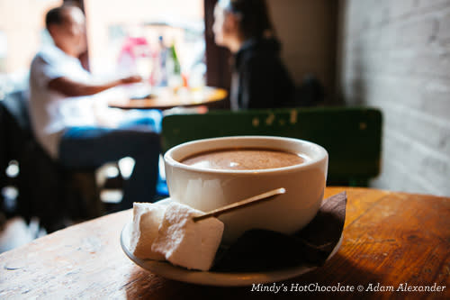 Cup of Hot Chocolate at Mindy's HotChocolate