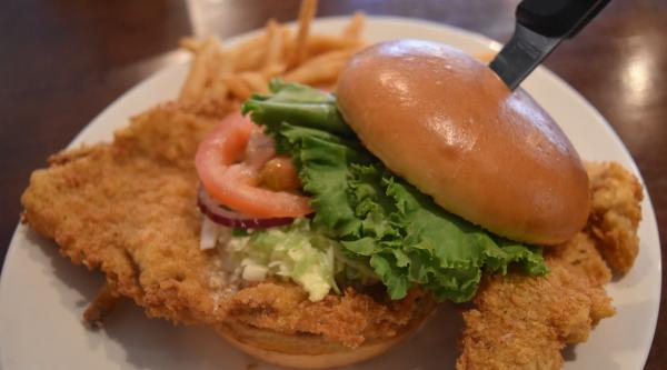 Pork Tenderloin at Champions Bar and Restaurant - Fort Wayne, IN