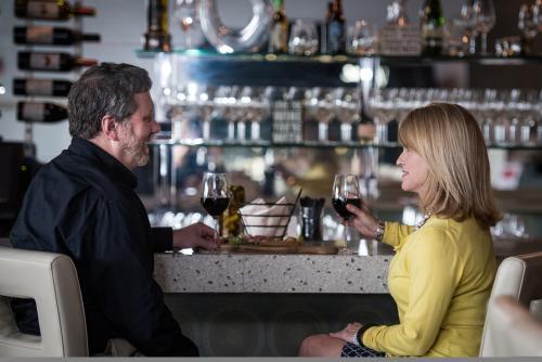 Couple at Vino Venue