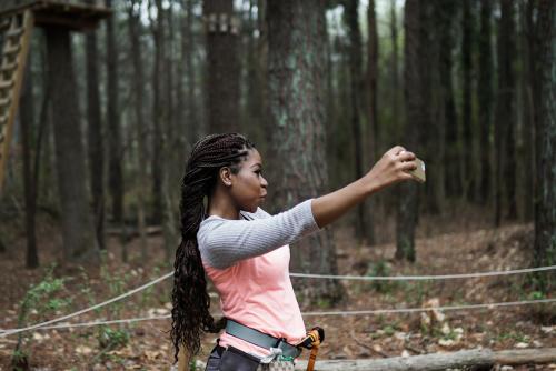 Treetop Quest Selfie