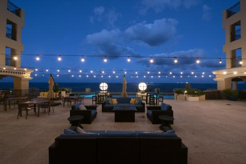 Patio at night for the Full Moon Party at The Atlantic Hotel & Spa in Fort Lauderdale