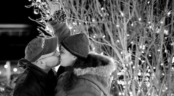 Romance Winter Kiss