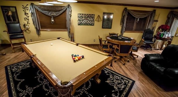 Games room at Guesthouse B&B