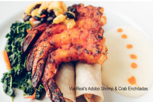 Via Real Shrimp & Crab Enchilada