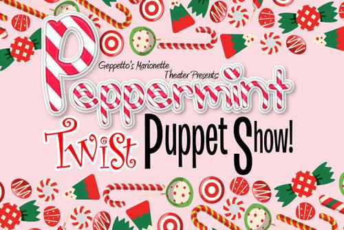 Peppermint Twist Puppet Show