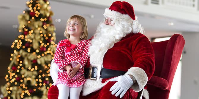 Santa in Wichita Blog