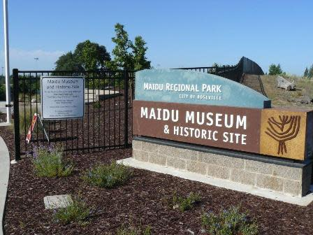 Exterior of Maidu Museum and Historic Site