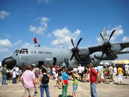 When Eyes Aren't Turned to the Sky, Visit the Variety of Displays at the Florida International Air Show, March 24 - 25, 2012