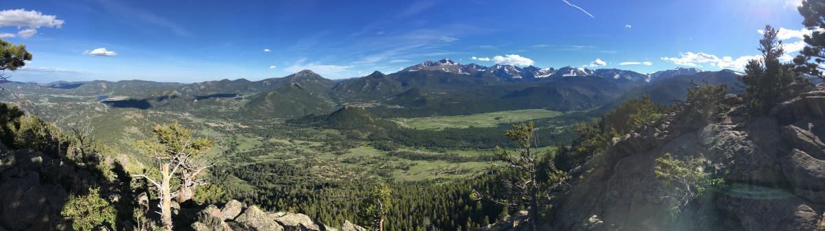 Deer Mountain Panoramic Shot