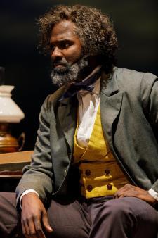 Cedric Mays in Agitators at Geva Theatre Center