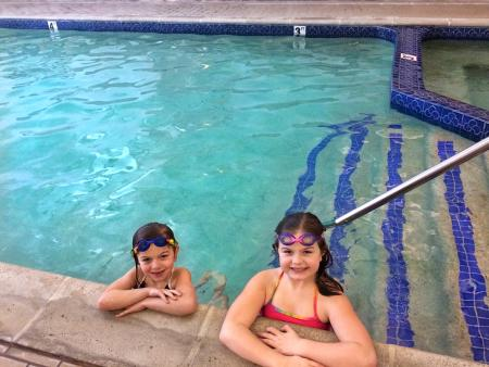 Pool at Cherry Tree Inn & Suites