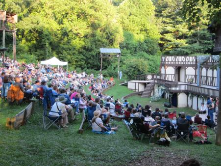 Montford Park Players at Hazel Robinson Amphitheater