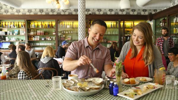Couple Dining Photo Credit Austin Convention & Visitors Bureau_72dpi